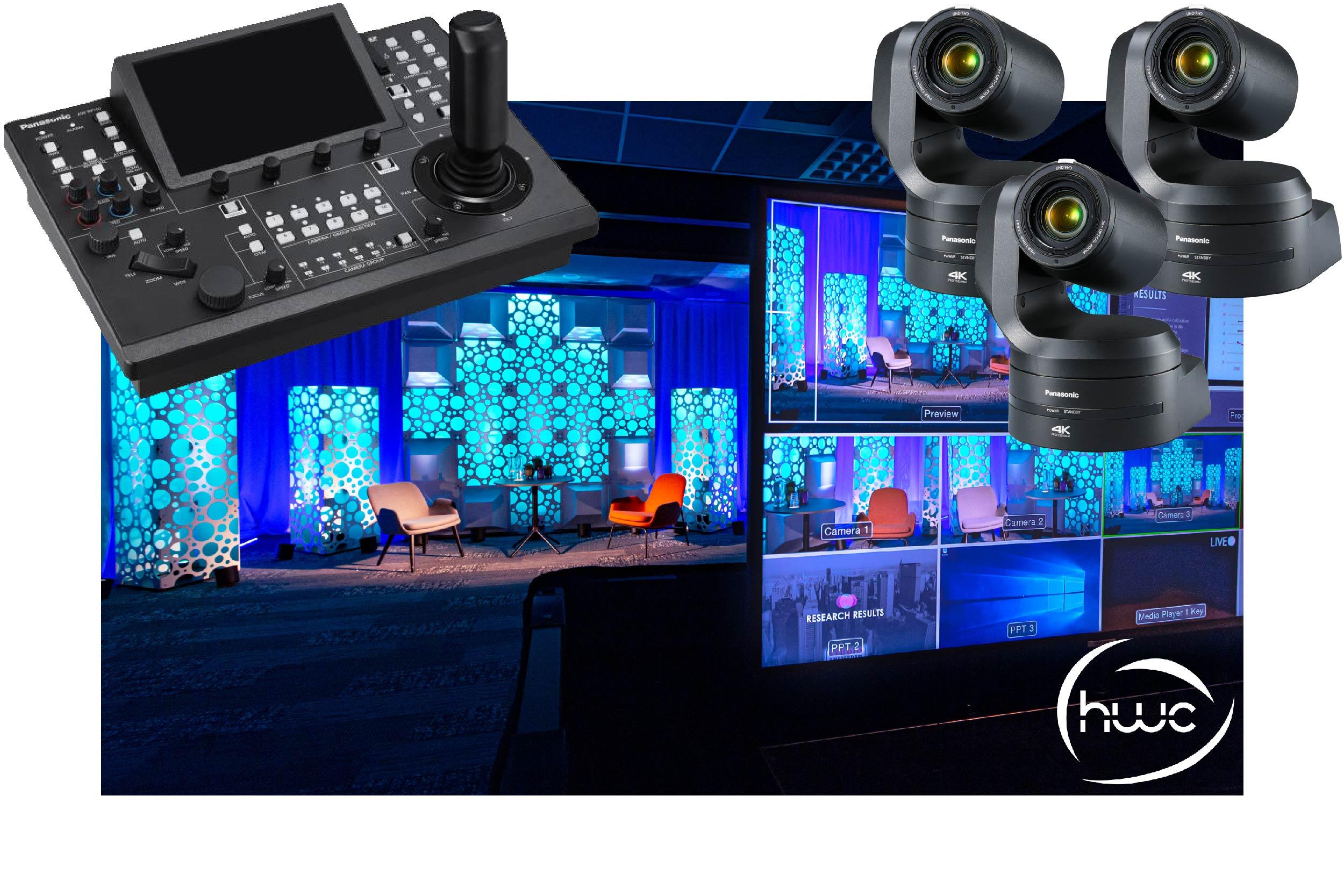 Remote PTZ Camera Set